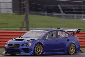 The Subaru WRX STI Racer Will Tackle The Goodwood Hill Climb