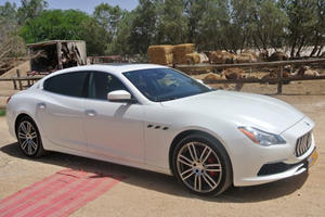 2017 Maserati Quattroporte Review: Driving Through The Middle East In Style