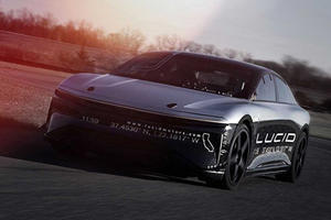 The 1,000-HP Lucid Air Alpha Just Hit 235 MPH On The Test Track