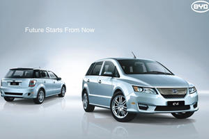 BYD Kick-Started Sales Of Electric Minivan