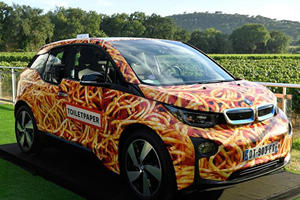 Someone Spent Over $100,000 On This Bizarre BMW i3 Spaghetti Car