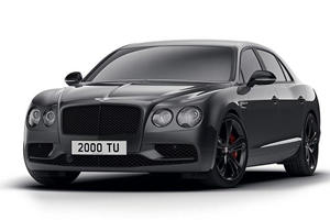 Bentley Shows Its Sinister Side With New Flying Spur V8 S Black Edition