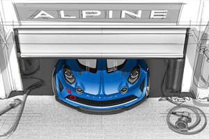 A Hardcore Alpine A110 Race Car Is Happening