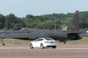 Air Force Uses Tesla Model S As Guide For Spy Planes