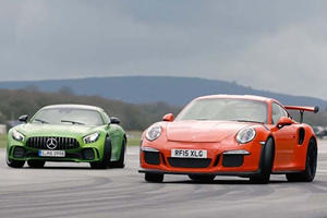 Mercedes-AMG GT R Battles Porsche 911 GT3 RS For The Title Of Best Driver's Car