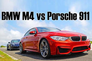 See How A Dual Clutch Automatic M4 Lays Waste To A Manual Porsche 911