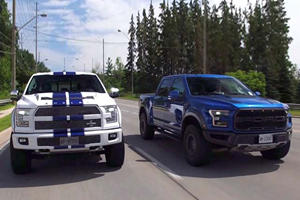 How Does The F-150 Raptor Compare To The 750-HP Shelby F-150?