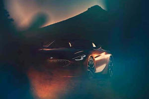 BMW Gives Us A First Look At The Front End Of The New Z4
