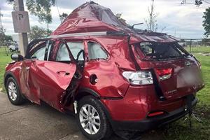 Florida Couple Blows Up Kia Sorento With Propane Gas Grill