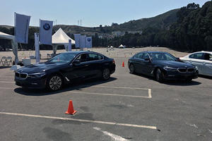 We Race The 5 Series For Best Lap At The BMW Ultimate Driving Experience