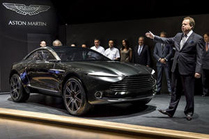 Aston Martin DBX Design Finalized And Will Debut In 2019