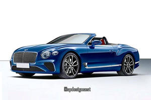 The New Bentley Continental GT Will Look Amazing As A Convertible