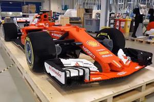 This Ferrari Formula One Car Is Made Of 350,000 Lego Bricks