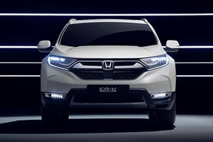 Could The Honda CR-V Hybrid Prototype Make It To The US?