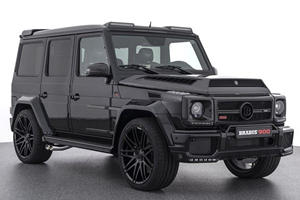 This Is The Absolutely Insane Brabus G65 Off-Roader With 900 Horsepower