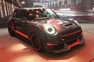 The Mini JCW GP Concept Doesn't Have Your Typical Carbon Fiber