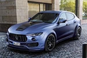 Maserati Will Stuff Ferrari's Turbo V8 Into The Levante Next Year
