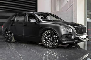 Bentley Bentayga Le Mans Edition Is A Blacked-Out Beast