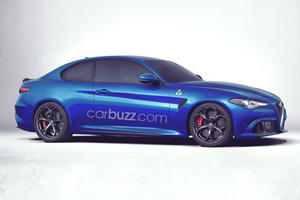 The Next Alfa Romeo Model Will Be A Two-Door Giulia Coupe