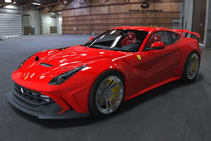 Ferrari F12 Berlinetta Gets A Beautiful Widebody Kit By Duke Dynamics