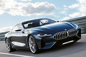 The Gorgeous BMW 8 Series Will Begin Production Next Year