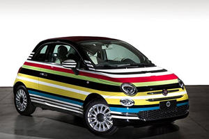 You Won't Believe How Much This Odd Fiat Raised For Charity