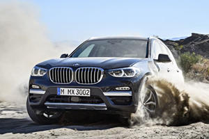 You Can Now Test Drive The New BMW X3 On Mars