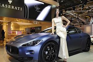 Maserati GranTurismo S Limited Headed for Bologna