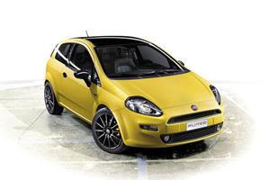 The 2012 Fiat Punto Arrives to Bologna 2011 'Born This Way'
