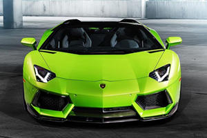 Vorsteiner Turns Lamborghini Aventador Roadster into 'The Hulk'