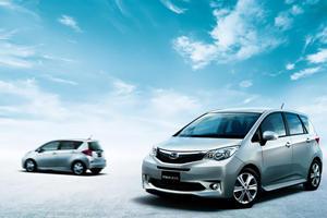 Subaru Launches Trezia Based on Toyota Verso-S MPV
