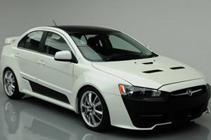 Proton Builds Mitsubishi EVO Concept Lookalike