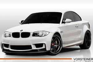 Teased: Vorsteiner GTS-V Based on the BMW 1-Series M Coupe
