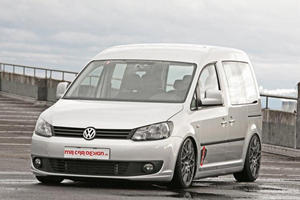MR Car Design Adds an Air Suspension to the Volkswagen Caddy