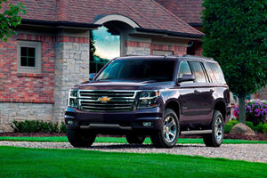 2017 Chevrolet Tahoe SUV Review