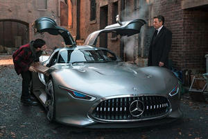 Batman Gets Stunning Mercedes Concept As New Ride