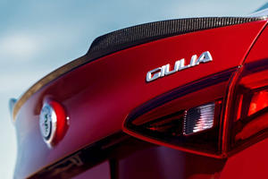 Alfa Romeo Giulia Quadrifoglio Sedan Rear Badge