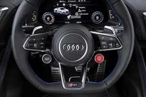 2017 Audi  R8 Coupe Steering Wheel Detail