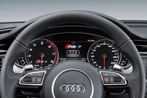 2017 Audi RS 7 performance Prestige quattro Sedan Gauge Cluster