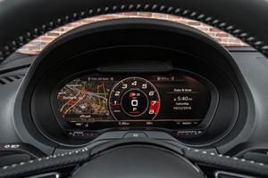 2017 Audi S3 2.0 TFSI Prestige quattro Sedan Gauge Cluster