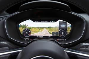 2017 Audi TT 2.0T quattro Roadster Gauge Cluster
