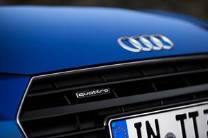 2017 Audi TT 2.0T quattro Coupe Front Badge