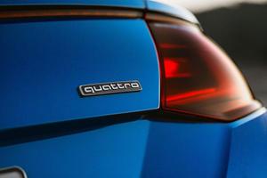 2017 Audi TT 2.0T quattro Coupe Rear Badge