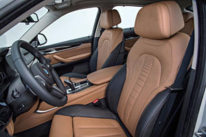 2017 BMW X6 xDrive50i 4dr SUV Interior