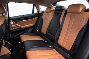 2017 BMW X6 xDrive50i 4dr SUV Rear Interior