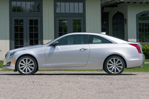 2017 Cadillac ATS Coupe Coupe Exterior