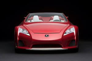 Video: Lexus LFA Roadster Makes Unexpected Drift Event Appearance