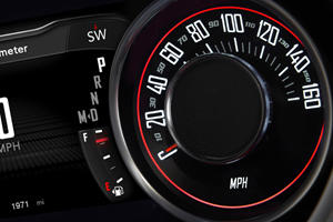 2017 Dodge Challenger SXT Plus Coupe Gauge Cluster