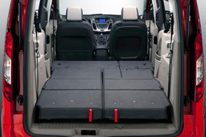 2017 Ford Transit Connect Wagon XLT w/Rear Liftgate LWB Passenger Minivan Cargo Area