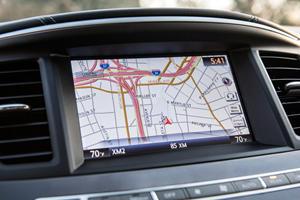 2017 INFINITI QX60 4dr SUV Navigation System